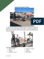 10.10.2013 Fotonota Avances Del Programa Emergente de Bacheo