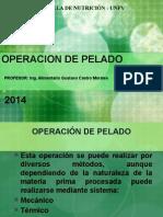 Operacion de Pelado y Reduccion de Tamaño 2014 (1)