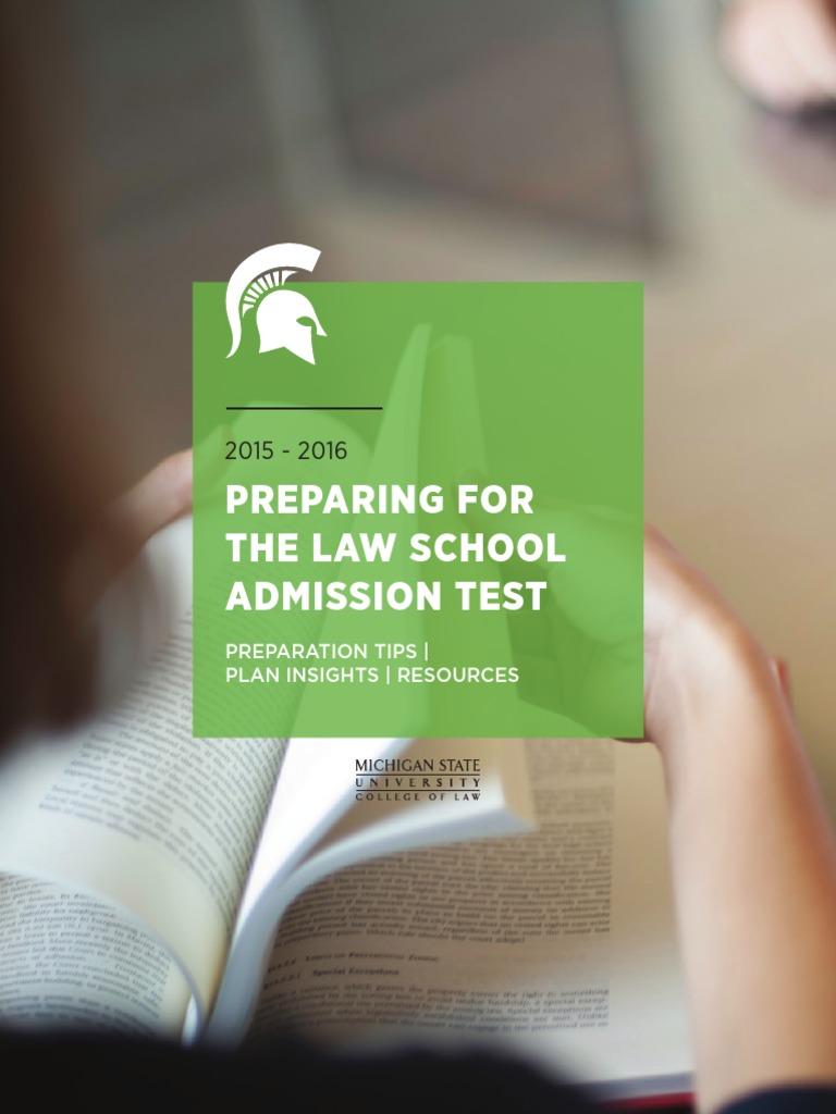 LSAT Prep Guide | Law School Admission Test | Test ...