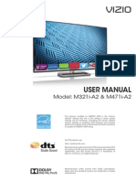 Vizio User Manual UM_M321iA2