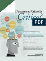 Pensamiento Critico Artuculo