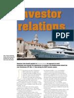 John Rosatti Investor Relations