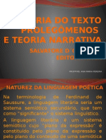 Teoria Do Texto Prolegômenos Narrativa (1)