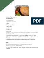 Tortillas de Máchica