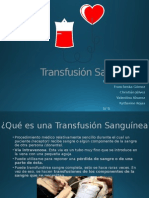 Transfusión-Sanguínea