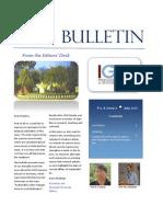 IGCS Bulletin Vol. 4 Issue 3 July 2015 Final