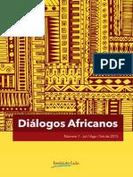 Dialogos africanos edição 2015
