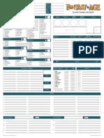 Fantasy AGE - Character Record Sheet - Edicion Propia