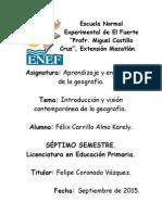 Presentación, Felix Carrillo Alma Karely