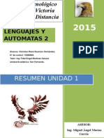 Lenguajes y Autómatas Unidad 1