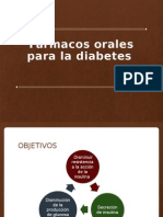 farmacos para diabetes