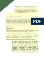 Modelo de Informe Pericial en Psiquiatría Forense