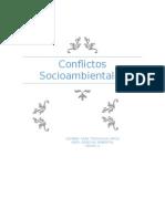 Conflictos Socioambientales