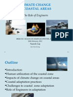 Climate Change and Coastal Areas - The Role of Engineers