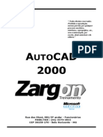 Apostila - AutoCAD 2000