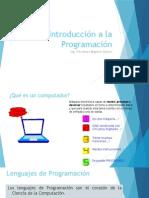 1 Introducción a La Programación