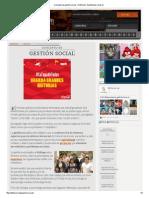 Concepto de Gestión Social - Definición, Significado y Qué Es