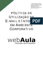 Apostila - Politica de E-mail e Internet Em Ambiente Corporativo