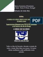 Encontro Ibérico Ecuménico 2010 AD