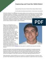 Prima Health care Engineering and Fraud Bar Skilful Robert Smoley