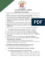 Lista de Documentos Federal-3