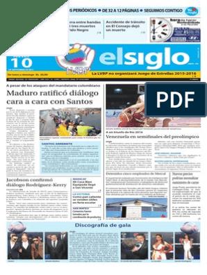 EdicionImpresaElSiglo-10-09-2015 pdf