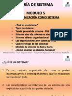 PPT UM CO Modulo 5 La Organizacion Como Sistema