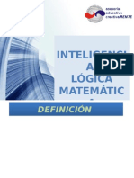 INTELIGENCIA LÓGICO-MATEMATICA