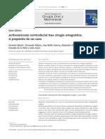 ActinomicosisActinomicosis cervicofacial tras cirugía ortognática.