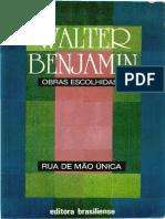 BENJAMIN, W. Obras Escolhidas, Vol. 2 - Rua de Mão Única