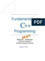 fundamentals of c++