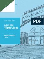 BCR Revista Trimestral-Enero a Marzo 2015