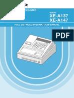 Sharp Cash Register Manual