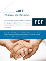 Aged Care Brochure