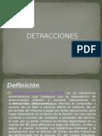 Detracciones