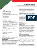 Exp03-Gamma-Ray Spectroscopy Using NaI(Tl)