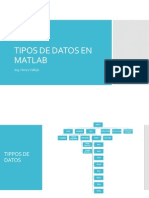 Tipos de Datos en Matlab
