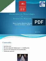Elementos Mineralogia