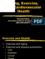 Aging, Exercise, And CV Health
