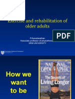 Exercise and Rehab Old