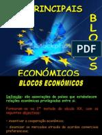 BLOCOS ECONÓMICOS