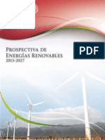 Prospectiva Energias Renovables 2013-2027