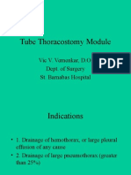 Tube Thoracostomy Module