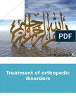 13th Lecture Treatment of Orthopedic Disorders