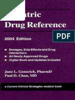 Pediatric Drug Reference