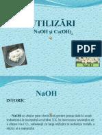 Utilizarile NaOH si ale Ca(OH)2.pptx