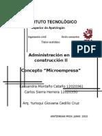 Micro Empresa Final