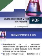 Quimioprofilaxis y Resistencia Microbiana Luz