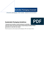 Sustainable Packaging Guidelines