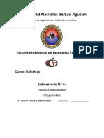 Robotica - Laboratorio 4